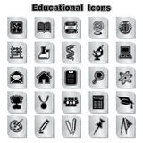 Set of education icons Stock Images