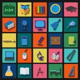 Set education icons Stock Images