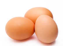 Set of eggs Royalty Free Stock Photography