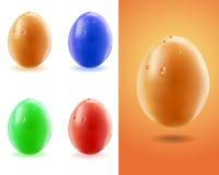 Set eggs Stock Image