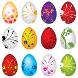 Set Eggs Stock Images