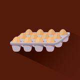 Set of eggs Royalty Free Stock Photos