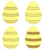 Set Eier Stockbild