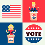 Set for elections Royalty Free Stock Photography