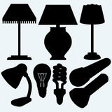 Set electrical lighting Stock Photography