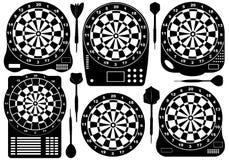Set Of Electronic Dartboards Stock Photos