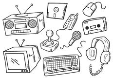 Electronic devices Royalty Free Stock Photo