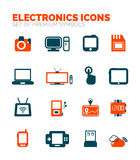 Set of electronics icons. Vector premium icon collection vector illustration