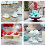Set eleganci jedzenia fotografie Zdjęcia Royalty Free