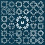 Set of elegant monogram design. Stock Photography