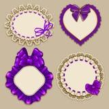 Set of elegant templates frame design Stock Photography