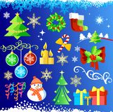 Set elements / Christmas design  / vector / Royalty Free Stock Photos