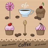 Set of elements for design Royalty Free Stock Images