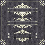 Abstract damask background Royalty Free Stock Photos
