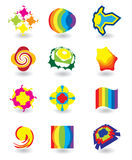 Set of elements for design Stock Image