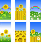 Set of elements for design, backgrounds royalty free stock image