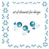 Set of elements for design Royalty Free Stock Photography