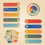 Set elements of info graphic Royalty Free Stock Image