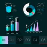 Set elements of info graphics Stock Photos