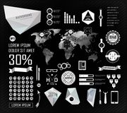 Set elements of infographics Stock Photo