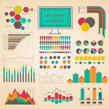 Set elements of infographics Stock Image