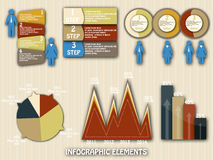 Set elements of infographics Stock Images