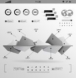 Set elements of infographics Stock Photography