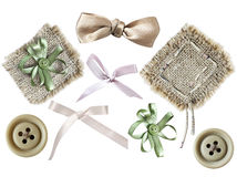 Set of elements for scrapbooking Stock Image
