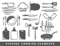 Set elementy kucharstwo ilustracji