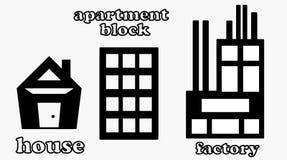 Set emblematy Zdjęcia Stock