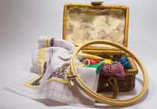Set embroidery Stock Image