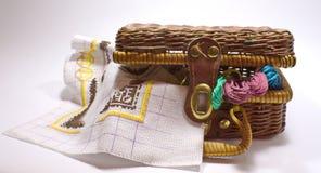 Set embroidery Stock Photos