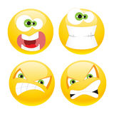 Set emoticons Royalty Free Stock Photography