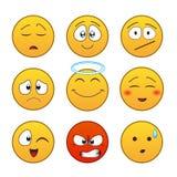 Set of emoticons Stock Photo