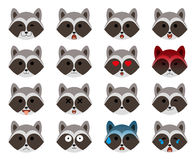 Set of emoticons Royalty Free Stock Photo