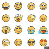 A set of emoticons. Royalty Free Stock Images