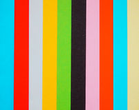 Set of empty colorful papers Royalty Free Stock Photography
