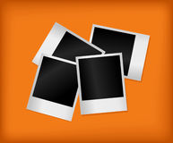 Set of empty photos. Vector Stock Photography