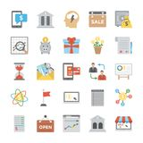 Business Flat Vector Icons Collection stock illustration