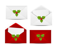 Set of envelope icons Stock Images