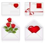Set from envelopes Stock Photos