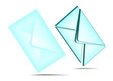 Set of envelopes Royalty Free Stock Photography