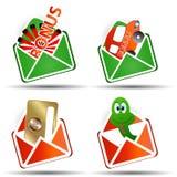 A set of envelopes Stock Image