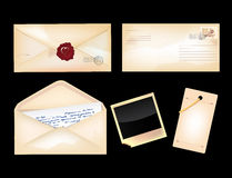 Set of envelopes Royalty Free Stock Photography