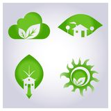 Set environmental protection Stock Photography