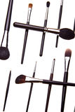 Set of essential professional make-up brushes Royalty Free Stock Photo