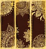 Set of ethnic bookmarks Royalty Free Stock Images