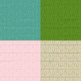 Set of ethnic ornament abstract vector seamless Royalty Free Stock Photos