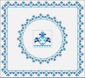 Set of Ethnic ornament pattern brushes. Vector illustration. Set of Ethnic ornament pattern brushes and examples of use . Vector illustration. From collection of Stock Illustration
