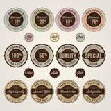 set etiketter för rabattetikettförsäljning Fotografering för Bildbyråer